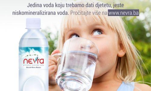 Koliko vode trebaju djeca?